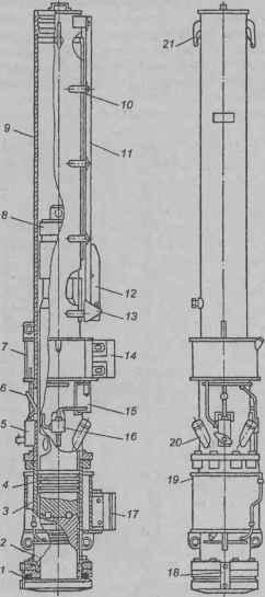Конструктивная схема трубчатых