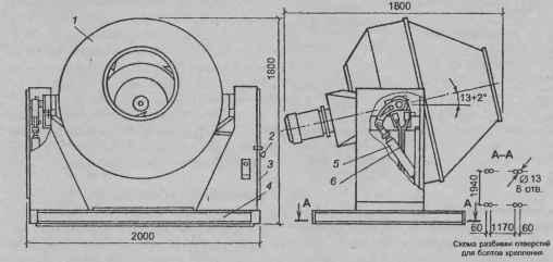 Бетоносмеситель СБ-91 Б: