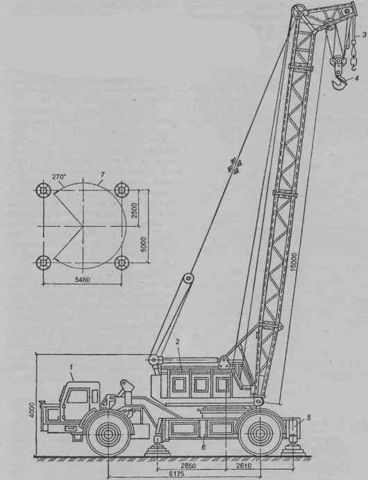 Пневмоколесный кран МКТ-40