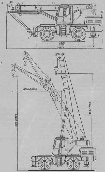 Короткобазовый кран КС-4372