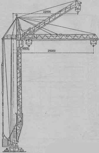 Башенный кран КБ-308А