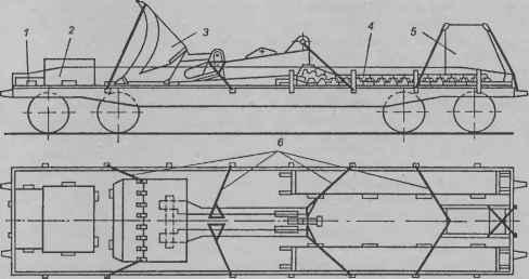 Схема погрузки экскаватора