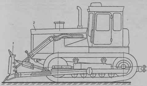 Бульдозер ДЗ-110В (ДЗ-171.1):