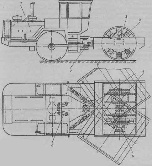 вибрационный каток ДУ-57:
